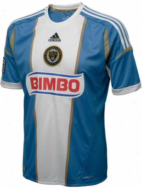 Philadelphia Union Gold Adidas Replcia Away Jersey