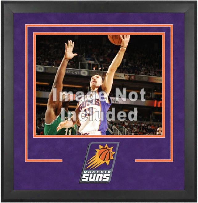 Phoenix Suns 16x20 Horizontwl Setup Frame Wigh Team Logo