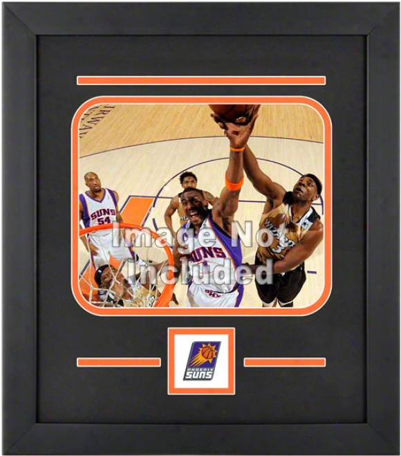 Phoenix Suns 8x10 Horizontal Setup Frame With Team Logo