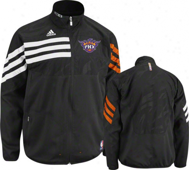 Phoenix Suns Black 2011-2012 Western Conference On-court Warm-up Jacket