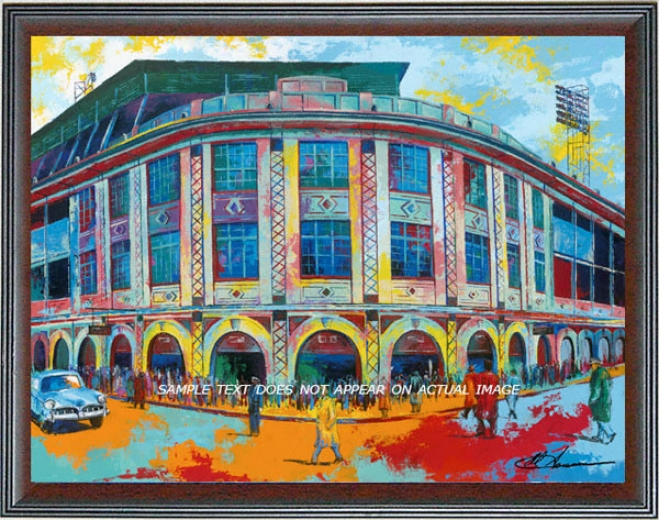 Pittburgh Pirates - &quotforbes Field&quot - Large - Framed Giclee