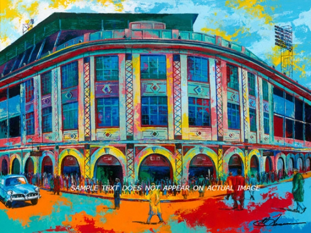Pittburgh Pirates - &quotforbes Field&quot - Large - Unframed Giclee