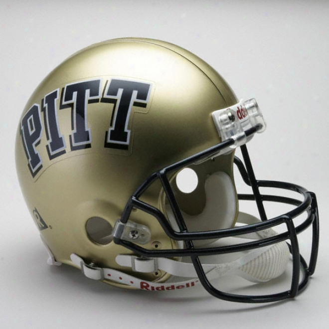 Pittsburgh Panthers Authentic Pro Line Riddell Full Sizing Helmet