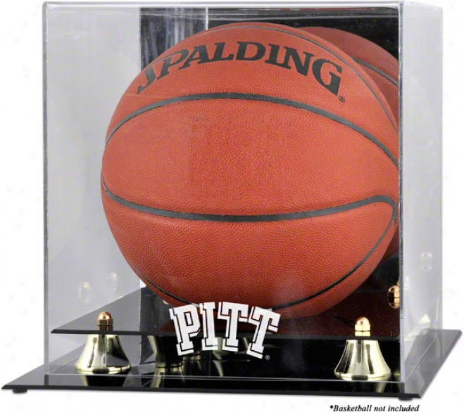 Pittsburgh Panthers Golden Classic Logo Basketball Display Case