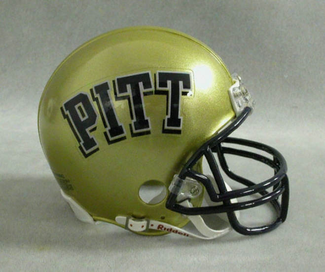 Pittsburgh Panthers Riddell Mini He1met