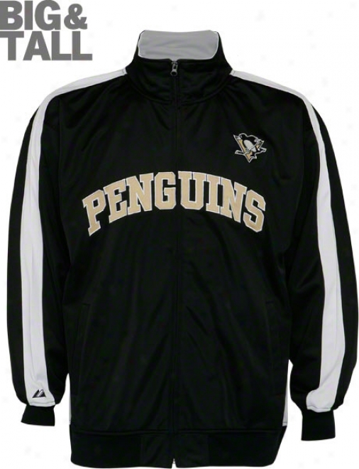 Pittsburgh Penguins Big & Tall Full-zip Follow Jacket
