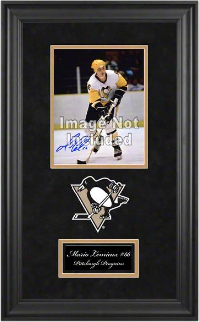 Pittsburgh Penguins Deluxe 8x10 Team Loho Frame