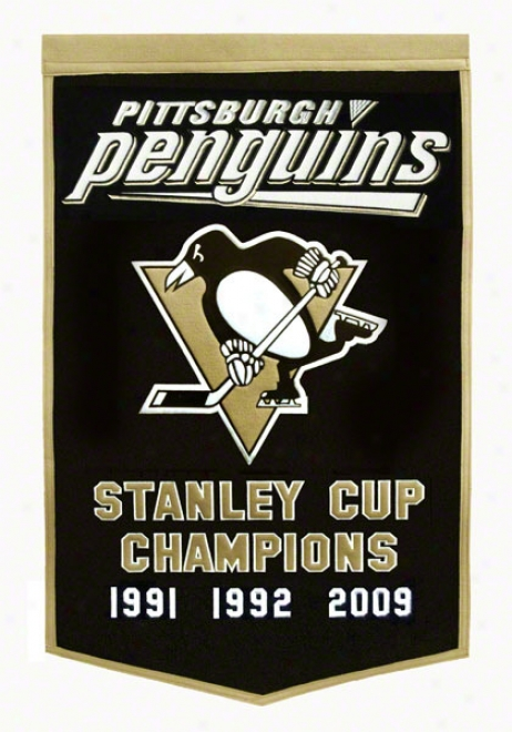 Pittsburgh Penguins Dynasty Banner