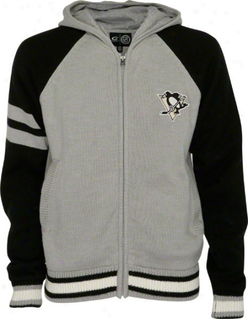 Pittsburgh Penguins Full-zip Sweater Jacket
