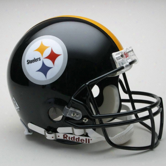 Pittsburgh Steelers Authentic Pro Line Riddell Full Size Helmet