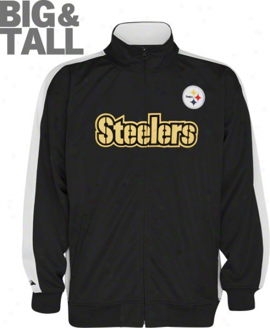 Pittsburgh Steelers Big & Tall Qb Track Jacket