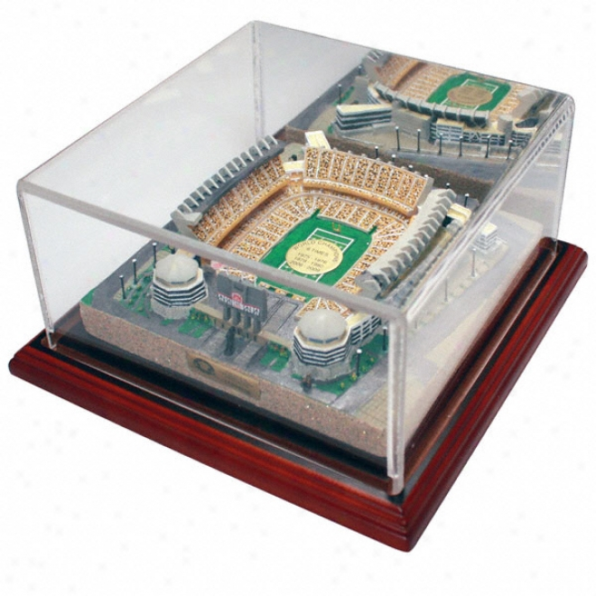 Pittsburgh Steelers Heinz Field &quotsix-time Champjons&quot Replica With Case - Gold Series