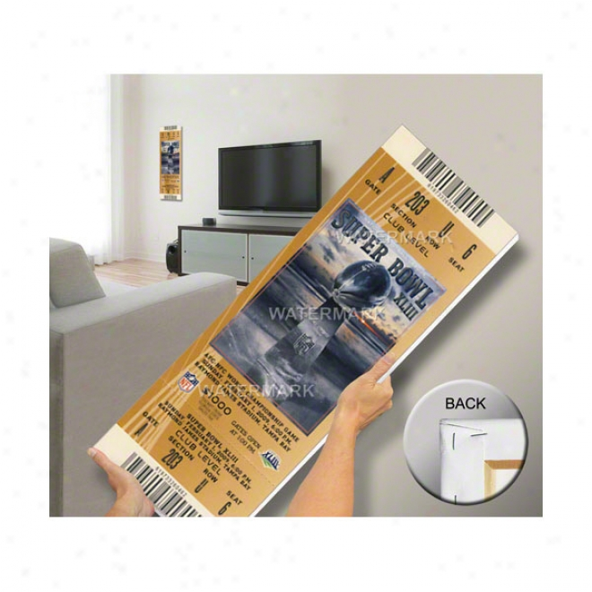 Pittsburgh Steelers Super Bowl Xliii Mega Ticket