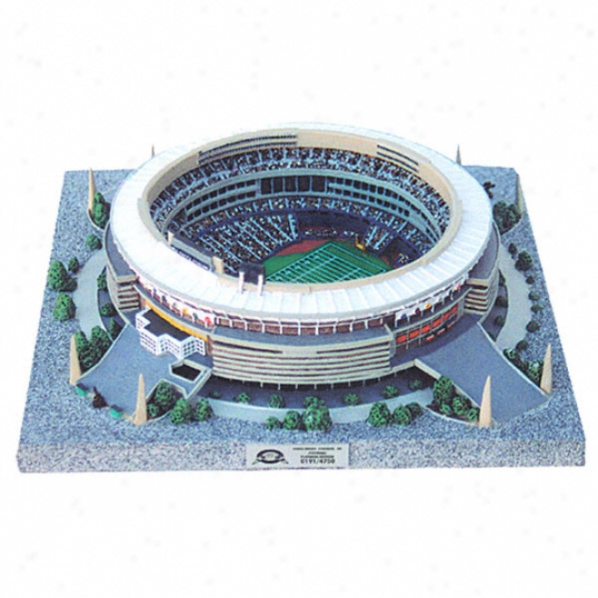 Pittsburgh Steelers - Three Rivers Stadium Replica - Platinum Series