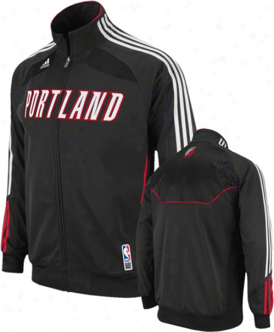Portland Track Blazers Adidas On-court Warm Up Jacket