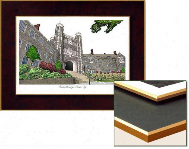 Princeton Tigers Collegiate Laminated Lithograph