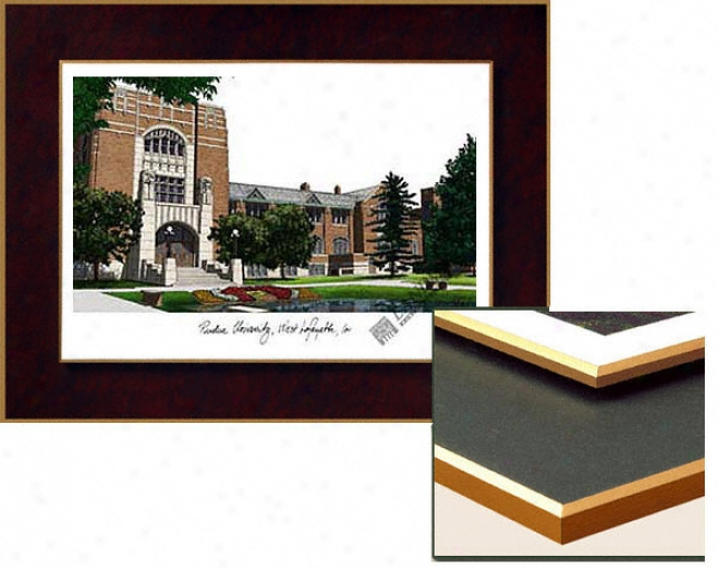 Purdue Boilermakers Collegiate Laminated Lithograph