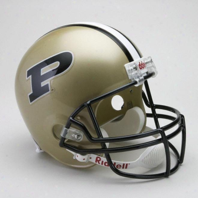 Purdue Boilermakers Deluxe Replica Riddell Helmet