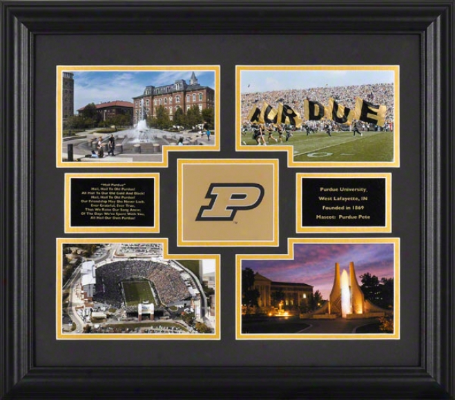 Purd8e Boilermakers Framed 4-photograph Collage