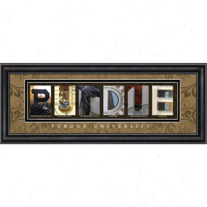 Purdue Boilermakers Letter Practical knowledge