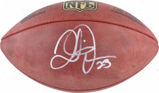 Quentin Jammer Autographed Football