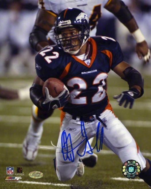 Quinten Griffen Denver Broncos 8x10 Autographed Photograph