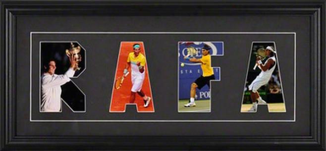 Rafael Nadal Letter Framed Photos