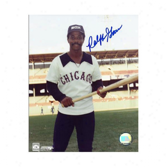 Ralph Garr Autographed Chicago White Sox 8x10 Photo