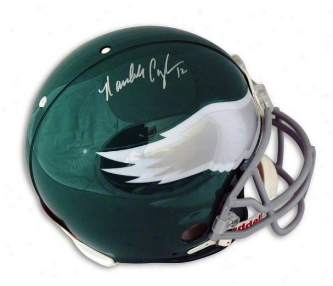 Randall Cunningham Philadelphia Eagles Autographed Proline Helmet
