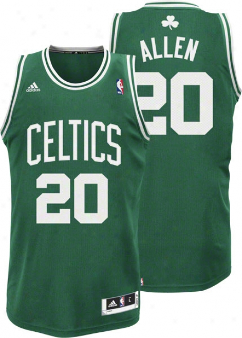 Ray Allen Green Adida Revolution 30 Swingman Boston Celtics Jersey