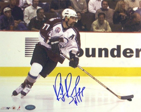 Ray Bourque Colorado Avalanche -stanley Cup Action Shit- 8x10 Autographed Photograph