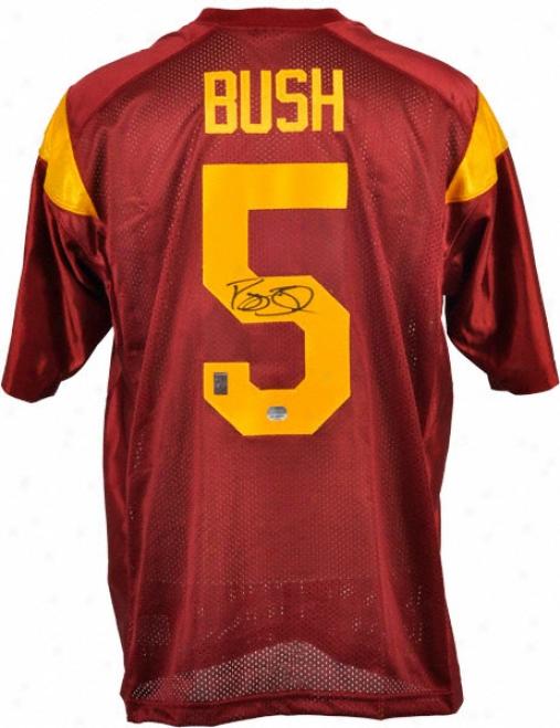 Reggie Bush Autographed Jersey  Details: Usc Trojans, Nike