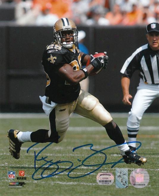 Reggie Bush New Orleans Saints Autographed 8x10 Photograph