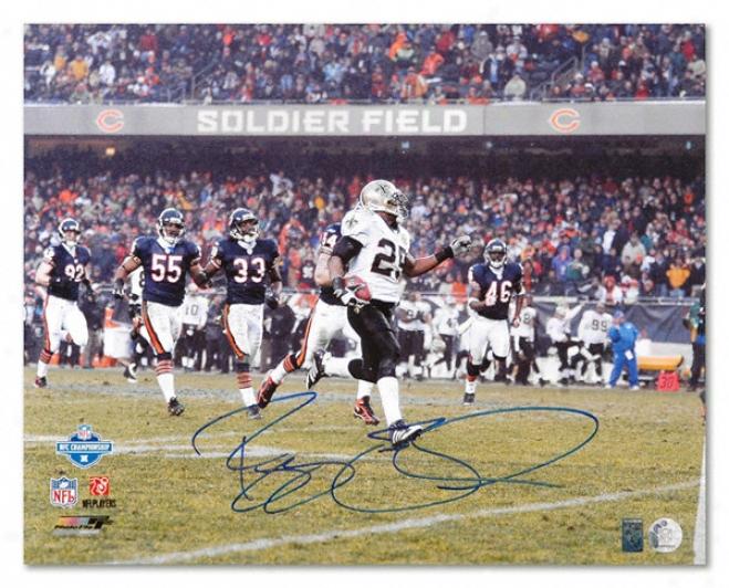 Reggie Bush New Orleans Saints - Vs. Bears - Autographed 16x20 Photograph