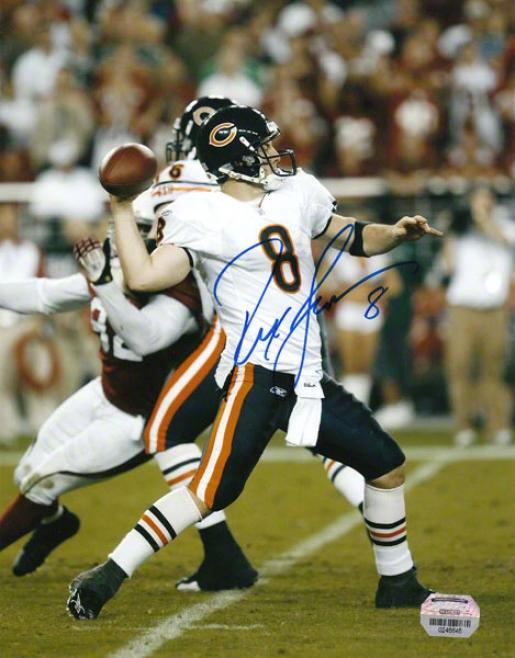 Rex Grpssman Chicago Bears - Vs Arizona - 8x10 Photograph