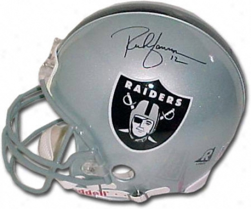 Rich Gannon Oakland Raiders Autographed Authentic Helmet