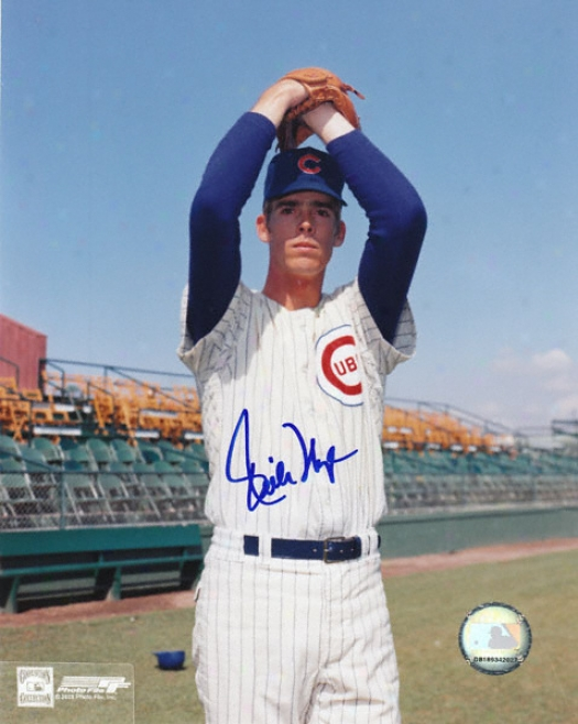 Rich Nye Chicago Cubs Autographed 8x10 Photo