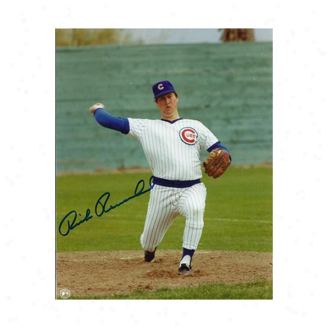Rick Reuschel Autogrpahed Chicago Cubs 8x10 Photo