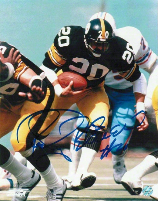 Rocky Bleier Pittsburgh Steelers Autographed 16x20 Photo Vs Oilers