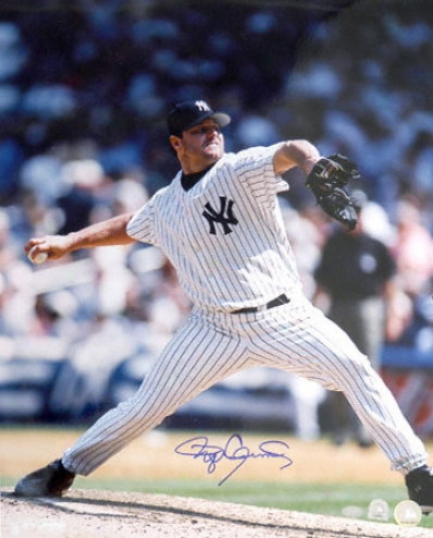Roger Clemens New York Yankees Autographed 16x20 Photograph