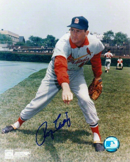 Roger Craig Autographed St. Louis Cardinals 8x10 Photo