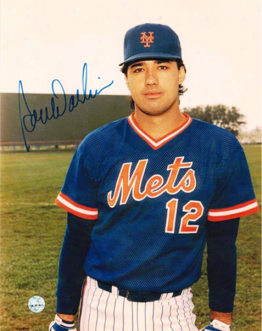 Ron Darling New York Mets Autographed 8x10 Photo Pose