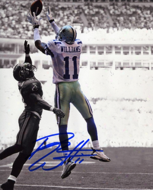 Roy Williams Dallas Cowboys Autographed 8x10 Photograph