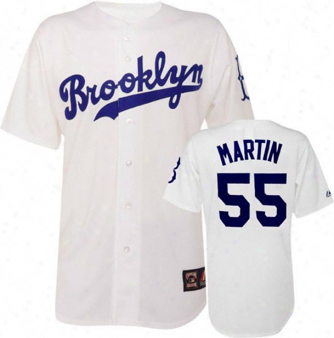 Russell Martin Brooklyn Dodgers Cooperstown Replica Jersey