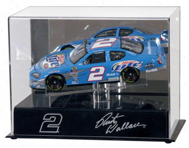 Rusty Wallace 1/24th Die Cast Parade Case With Platform