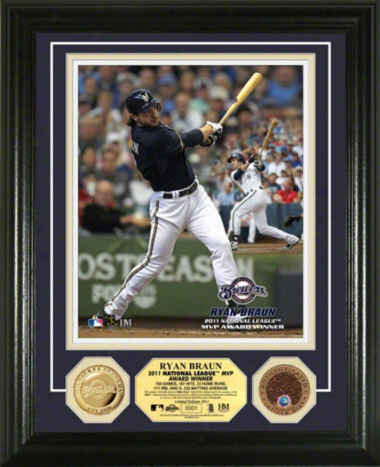 Ryan Braun 2011 N.l Mvp Photo Mint