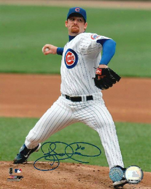 Ryan Dempster Chicago Cubs Autographed 8x10 Photo