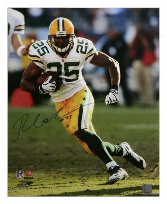 Ryan Grant Green Bay Packers Autographed 16x20 Photograph
