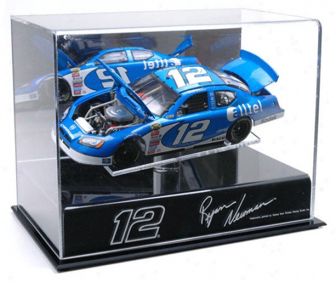 Ryan Neman 1/24th Die Cast Display Case Upon Platform