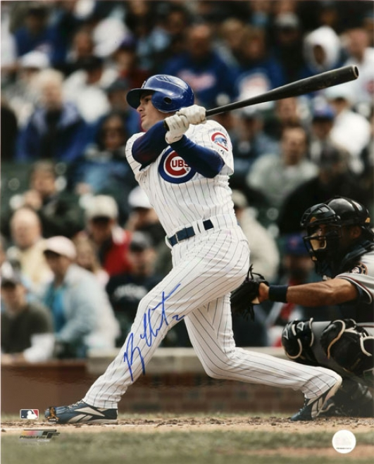 Ryan Theriot Chicago Cubs Autographed 16x20 Photo